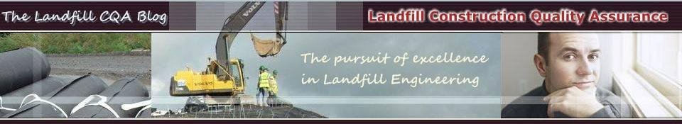 The Landfill Construction Quality Assurance web site
